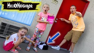 Unlocking Hello Neighbor's House With Game Master's Little Pink Box!!!