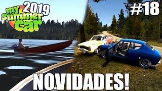 My Summer Car 2019 - NOVOS DOIDOS NO RALLY E DOIDO DO BARCO! #18