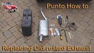 Punto How To: Exhaust Replacement