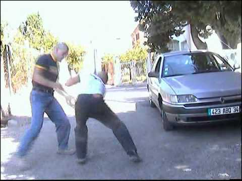 Self Defense Krav Maga demonstration