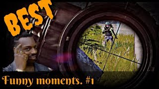 PUBG BEST Funny WTF Moments Highlights #1
