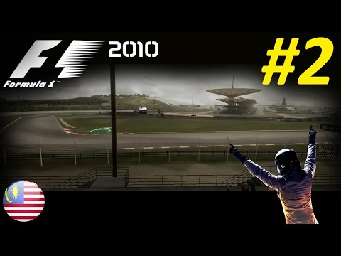 F1 2010 Career Mode Part 2: Melbourne & Malaysia