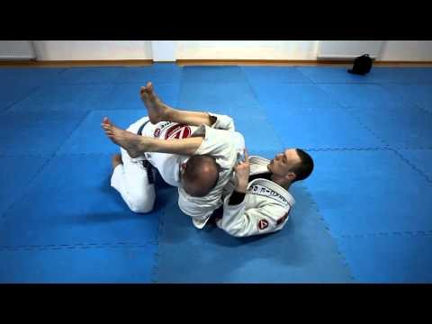 brazilian jiu jitsu tutorial (Джиу Джитсу) атака из гарда 2