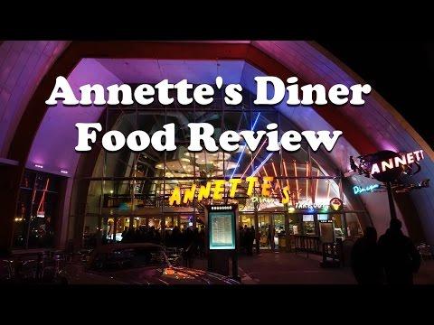 Annette's Diner Food Review at Disneyland Paris