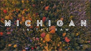 EPIC Drone!  Michigan Fall Colors  - Upper Peninsula