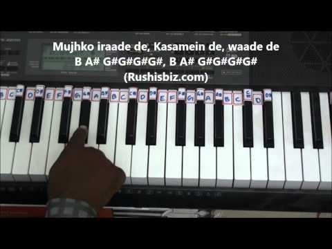 Sun Raha Hai Na Tu Piano Tutorials - Aashiqui 2 !!!
