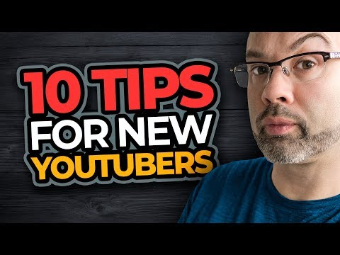 10 Tips For New Youtubers | New Youtube Channels