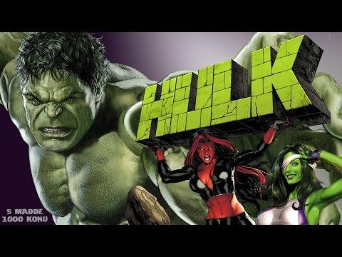 The Hulk Hakkında 5 Bilinmeyen ve Fazlası