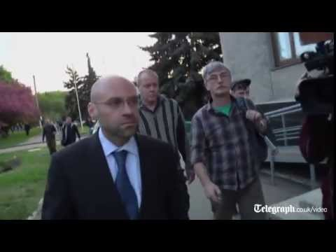 Ukraine: OSCE inspector released by separatists