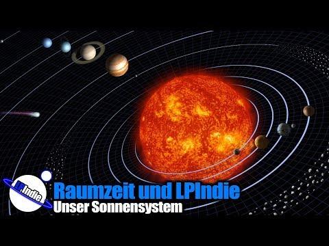 Raumzeit und LPIndie präsentieren: Unser Sonnensystem