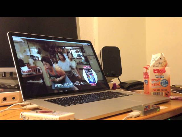 Leap Motion + Max/MSP/Jitter glitch test