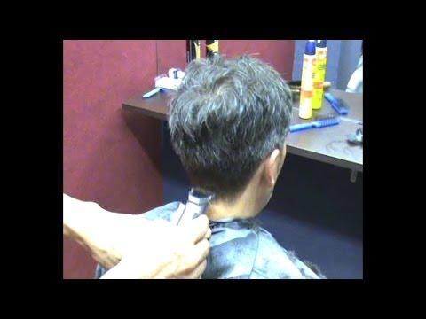 Corte Pelo Hombre,Terminación Cuello con Maquinilla