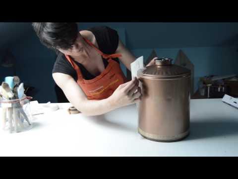 DIY lámpara con lata reciclada
