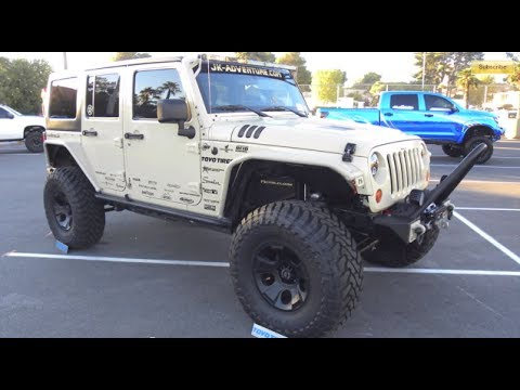 Nothing but JEEPS (and some girls) :SEMA 2013