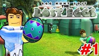 Roblox | BẮT ĐẦU HÀNH TRÌNH SĂN TRỨNG #1 - Egg Hunt 2017: The Lost Eggs | KiA Phạm