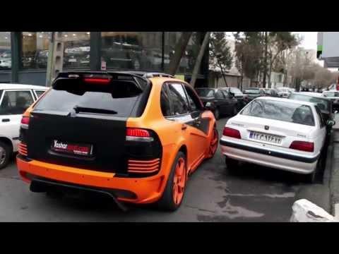 Tuned Porsche Cayenne -Iran -Tehran