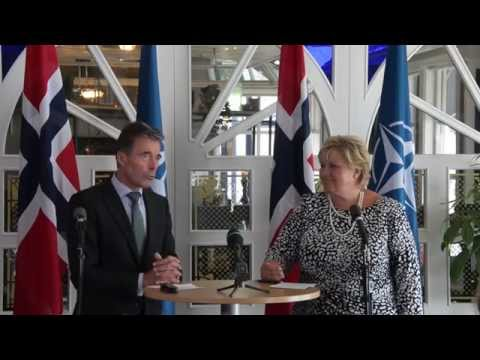 NATO Secretary General and Prime Minister of Norway - Joint Press Point, 14 Aug 2014