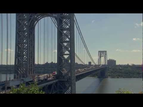 Timelapse: GEORGE WASHINGTON BRIDGE - New York City