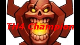Clash of Clans Meeting TH4 Champ In Global