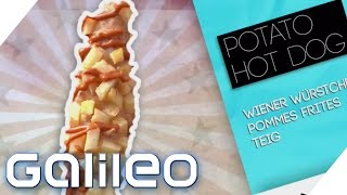Fast Food Trends Deutschland (Potatoe Hot Dog, Pulled Pork, Gua BAo) | Galileo | ProSieben