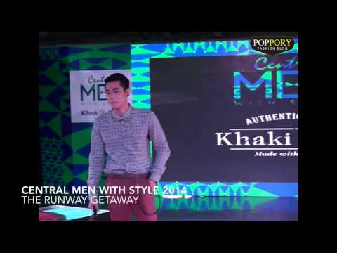 Khaki Bros. Fashion Show in Men With Style 2014 @ Central Chidlom