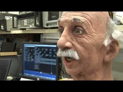 Einstein Robot - UCSD Machine Perception Laboratory