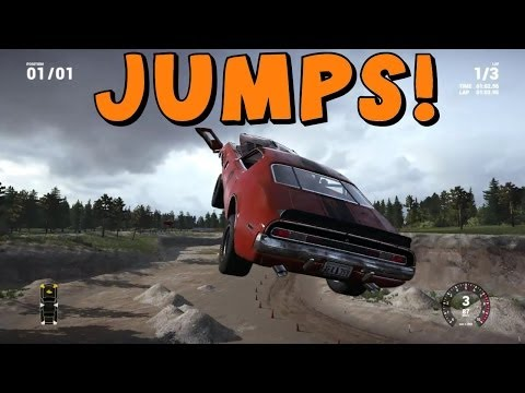 Next Car Game | Sandpit Jumps and Hidden Areas!