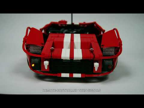 Lego Motorized Ford GT40