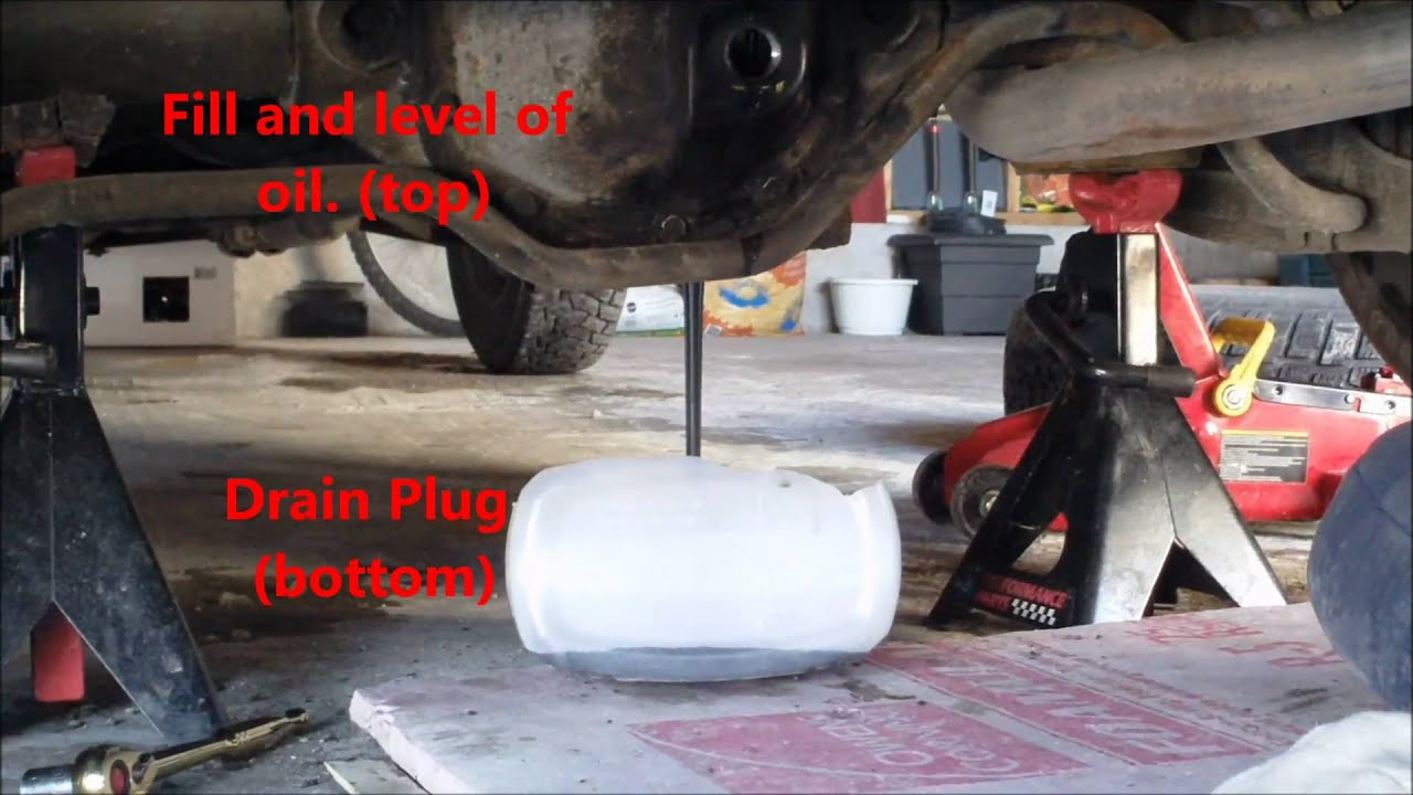 1990 Volvo 240 Dl Rear Differential Fluid Change Youtube