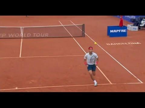 2013 ATP Barcelona Open Final Flashback - Rafael Nadal Tweener v Nicolas Almagro HD