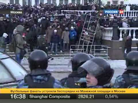 Egor Sviridov was killed. Massive street protests after that in Moscow on 2010-12-11