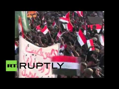 Iraq: Thousands protest Turkish troop deployment in Baghdad