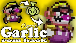 Garlic is the    of this hack | Super Mario World Rom Hack Garlic PART 1
