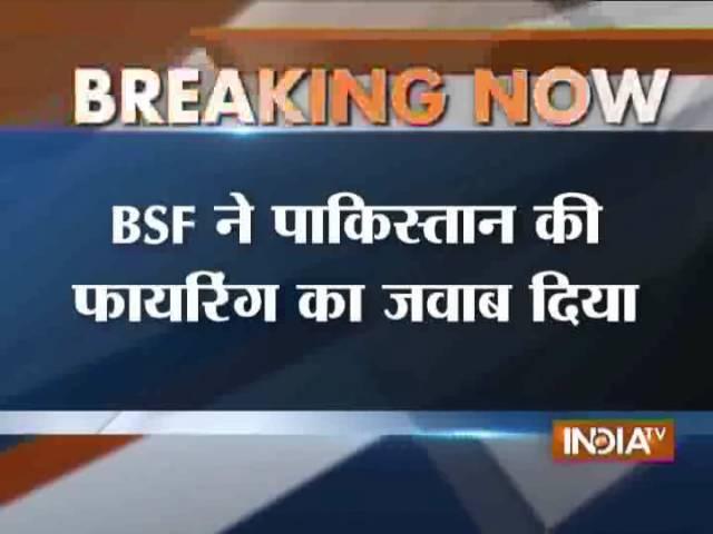 Pakistan Rangers Target Indian Posts in Jammu - India TV