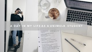 VLOG : Typical uni day in Melbourne