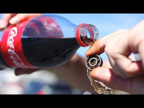 CAN COCA COLA CLEAN YOUR SKATEBOARD BEARINGS?