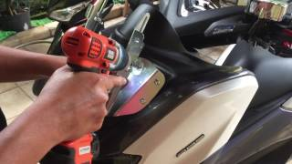 Pasang Bracket SerPo Untuk Yamaha Nmax