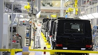 G-Class production - The Paint Shop