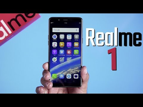 Real Me 1: Unboxing | Hands on | Price [Hindi हिन्दी]
