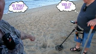 #103 Metal Detecting Vacation in OBX - Silver and Gold, Rings and Things 5/24/15