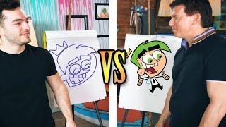 Drawing challenge vs. Butch Hartman