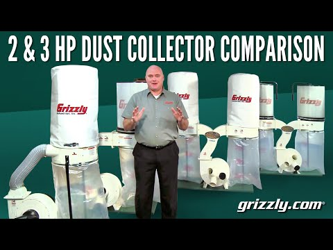 2 & 3 HP Dust Collector Comparison