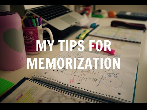 how to memorize study notes