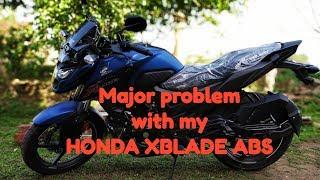 Big problem with my Honda X blade ABS #XBLADE