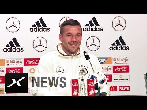 """Lukas Podolski: """"80 Prozent von euch und ich kraulen sich auch an den Eiern""""   Jogi Löw   Hosen-Gate"""