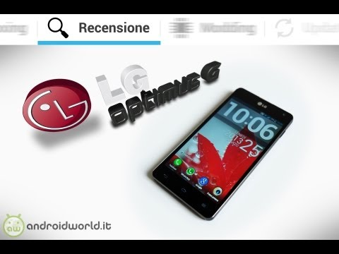 LG Optimus G. recensione completa in italiano by AndroidWorld.it