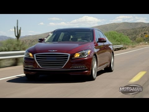 MotoMan heads to Scottsdale to drive the all new 2015 Hyundai Genesis only to learn that old friend of the show & Lotus Cars Chief Engineer of Vehicle Attrib...
