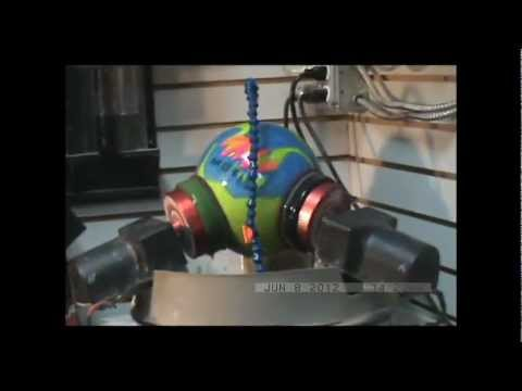 how to make a bowling ball spin