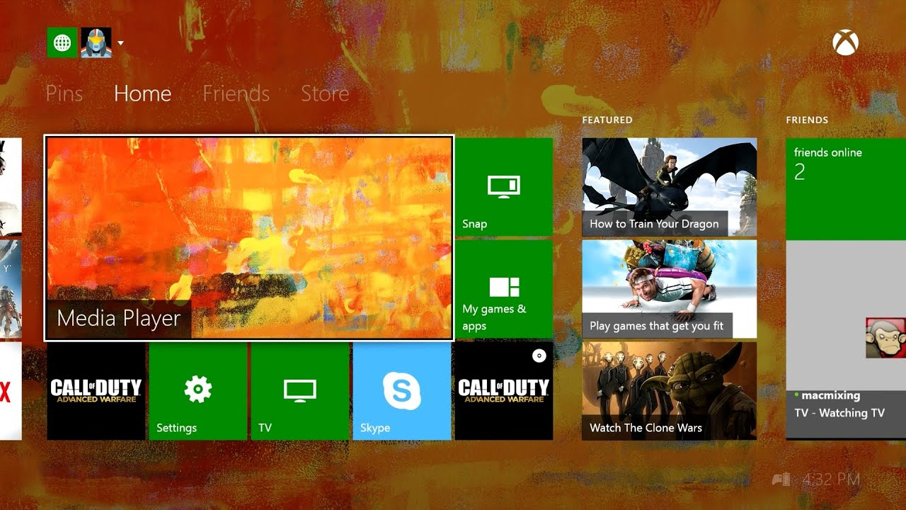 How to set a custom background on xbox one youtube - Set video as wallpaper ...