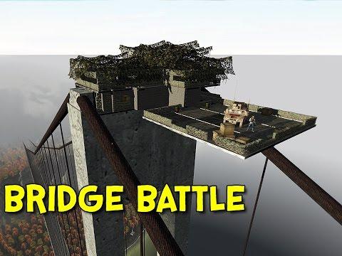 BATTLE OF THE BRIDGE! - Arma 2: DayZ Mod - Ep.48
